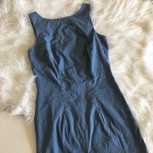 Vintage 90s plaid dress